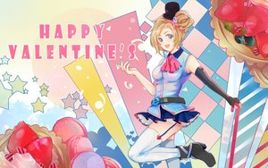 Rating: Questionable Score: 34 Tags: aizawa_inori anthropomorphism boots food fruit internet_explorer microsoft thighhighs valentine User: gnarf1975