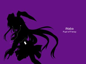 Rating: Safe Score: 34 Tags: animal_ears bunny_ears bunnygirl ipod parody purple reisen_udongein_inaba silhouette touhou User: grudzioh