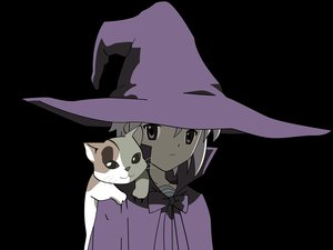 Rating: Safe Score: 34 Tags: animal cat nagato_yuki shamisen suzumiya_haruhi_no_yuutsu transparent vector witch User: Oyashiro-sama