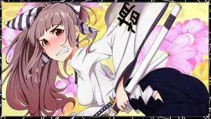 Rating: Safe Score: 23 Tags: japanese_clothes sword tagme weapon User: opai