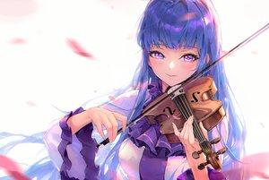 Rating: Safe Score: 48 Tags: blue_hair blush close instrument long_hair marija_(muse_dash) miyama_tsubaki_me muse_dash purple_eyes violin User: BattlequeenYume