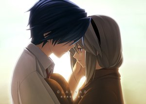 Rating: Safe Score: 191 Tags: clannad okazaki_tomoya sakagami_tomoyo tears User: mrdkreka