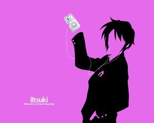 Rating: Safe Score: 22 Tags: ipod koizumi_itsuki parody purple silhouette suzumiya_haruhi_no_yuutsu User: Oyashiro-sama