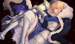 Rating: Safe Score: 55 Tags: armor artoria_pendragon_(all) blonde_hair fate_(series) fate/stay_night pigonhae saber sword tagme weapon User: Dreista