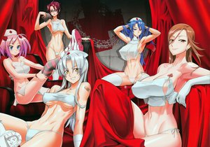 Rating: Questionable Score: 239 Tags: blue_eyes blue_hair blush bra breasts brown_eyes brown_hair cleavage erect_nipples glasses gray_hair group hitsugi_sayo inazuma kiba_mikoto long_hair nashida_oriha navel nurse panties pink_hair purple_eyes red_eyes red_hair sagiri_yuko see_through short_hair suzue_konomi thighhighs triage_x underboob underwear yellow_eyes User: Wiresetc