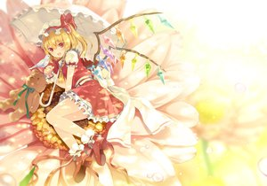 Rating: Safe Score: 40 Tags: animal bird flandre_scarlet flowers tagme teddy_bear touhou umbrella User: opai