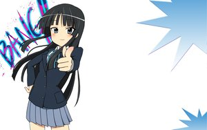 Rating: Safe Score: 28 Tags: akiyama_mio k-on! white User: HawthorneKitty
