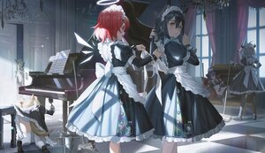Rating: Safe Score: 72 Tags: animal_ears arknights codec007 croissant_(arknights) exusiai_(arknights) instrument lappland_(arknights) maid mostima_(arknights) panties piano skirt_lift sora_(arknights) striped_panties tail texas_(arknights) underwear User: BattlequeenYume