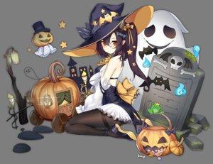Rating: Safe Score: 83 Tags: anthropomorphism azur_lane black_hair bow candy dress food halloween hat isuzu_(azur_lane) long_hair ootsuki_momiji orange_eyes pantyhose pointed_ears ponytail pumpkin transparent witch_hat User: otaku_emmy