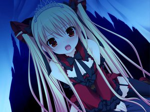 Rating: Safe Score: 120 Tags: blonde_hair bloody_rondo game_cg lolita_fashion luna_freed_queen makita_maki red_eyes tears twintails User: Wiresetc