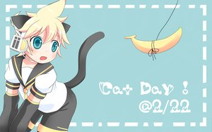 Rating: Safe Score: 13 Tags: animal_ears kagamine_len tail vocaloid User: HawthorneKitty
