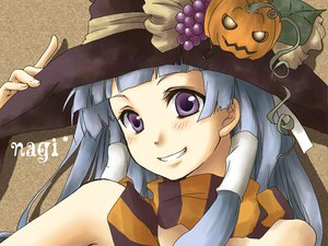 Rating: Safe Score: 27 Tags: halloween kannagi_crazy_shrine_maidens nagi User: atlantiza