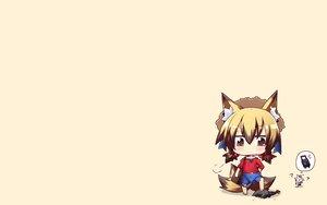Rating: Safe Score: 25 Tags: animal_ears bike_shorts chibi foxgirl multiple_tails original reku sanbi_(character) shiroko_(character) shorts tail User: SciFi