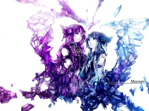 Rating: Safe Score: 99 Tags: hatsune_miku magnet_(vocaloid) megurine_luka oxalicacid vocaloid User: FormX
