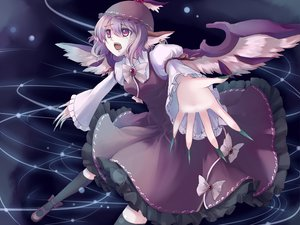 Rating: Safe Score: 25 Tags: fang hat myaaco mystia_lorelei pink_eyes pink_hair short_hair tears touhou wings User: PAIIS