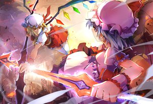 Rating: Safe Score: 80 Tags: flandre_scarlet remilia_scarlet touhou zhuxiao517 User: FormX