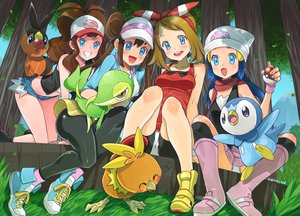 Rating: Safe Score: 22 Tags: eudetenis haruka_(pokemon) hikari_(pokemon) mei_(pokemon) piplup pokemon signed snivy tepig torchic touko_(pokemon) User: mattiasc02