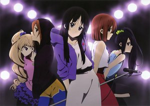 Rating: Safe Score: 75 Tags: akiyama_mio black_eyes black_hair blonde_hair blue_eyes brown_eyes brown_hair group hirasawa_yui k-on! kotobuki_tsumugi long_hair microphone nakano_azusa ponytail red_eyes scan short_hair tainaka_ritsu User: gogotea28
