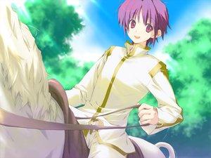 Rating: Safe Score: 9 Tags: animal favorite game_cg happy_margaret! horse kokonoka purple_eyes purple_hair short_hair tsuwabuki_akira User: 秀悟