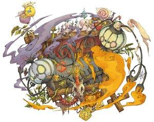Rating: Safe Score: 82 Tags: chandelure drifloon halloween joltik kuuneru litwick pokemon pumpkin User: PAIIS