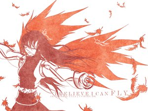 Rating: Safe Score: 13 Tags: feathers long_hair polychromatic red tagme_(artist) white wings User: Oyashiro-sama