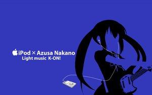 Rating: Safe Score: 20 Tags: blue ipod k-on! kisoba nakano_azusa silhouette User: anaraquelk2