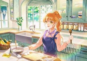 Rating: Safe Score: 30 Tags: apple apron food fruit jeya_(leej3ya) long_hair orange_eyes orange_(fruit) orange_hair original ponytail scenic waifu2x User: otaku_emmy