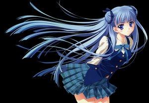Rating: Safe Score: 115 Tags: blue_eyes blue_hair carnelian long_hair para-sol school_uniform transparent yatabe_noa User: Wiresetc
