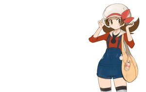 Rating: Safe Score: 20 Tags: brown_eyes brown_hair hat kotone_(pokemon) pokemon white User: happygestapo