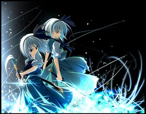 Rating: Safe Score: 30 Tags: katana konpaku_youmu nakanisi_iori sword touhou weapon User: acucar11