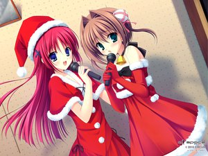 Rating: Safe Score: 87 Tags: 2girls asakura_yume christmas da_capo da_capo_ii hat santa_costume santa_hat shirakawa_kotori tanihara_natsuki User: oranganeh