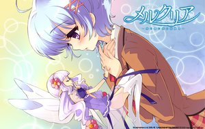 Rating: Safe Score: 18 Tags: blush fairy itou_noiji mercuria tears tiara tsurugi_ai User: Maho