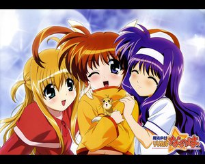 Rating: Safe Score: 13 Tags: alisa_bannings animal blonde_hair blue_eyes blue_hair blush brown_hair headband mahou_shoujo_lyrical_nanoha mahou_shoujo_lyrical_nanoha_a's takamachi_nanoha tsukimura_suzuka yuuno_scrya User: Oyashiro-sama