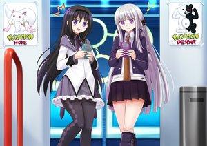 Rating: Safe Score: 60 Tags: akemi_homura dangan-ronpa game_console kazenokaze kirigiri_kyouko kyuubee mahou_shoujo_madoka_magica monokuma pokemon User: luckyluna