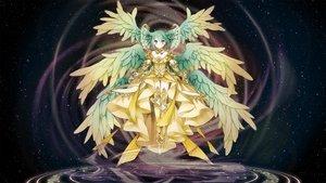 Rating: Safe Score: 19 Tags: hatsune_miku long_hair marchen_noir twintails vocaloid User: luckyluna