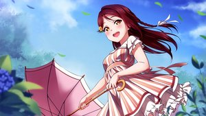 Rating: Safe Score: 15 Tags: cropped dress inou_shin love_live!_school_idol_project love_live!_sunshine!! sakurauchi_riko scan summer_dress User: joesca