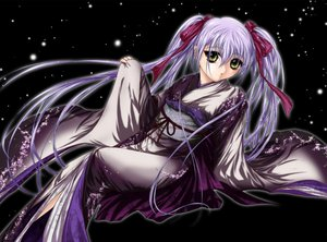 Rating: Safe Score: 17 Tags: black gray_hair hoshino_ruri japanese_clothes kimono long_hair martian_successor_nadesico ribbons twintails yellow_eyes User: Xtea