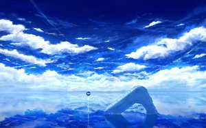 Rating: Safe Score: 112 Tags: clouds mks nobody original polychromatic ruins scenic sky water User: FormX