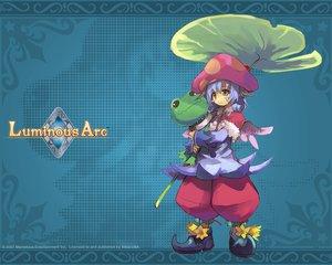 Rating: Safe Score: 12 Tags: animal blue frog luminous_arc mel User: atlantiza