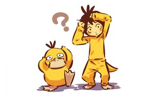 Rating: Safe Score: 42 Tags: hitec pokemon psyduck white User: Bad_Girl