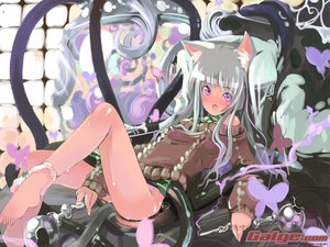 Rating: Questionable Score: 112 Tags: catgirl galge.com maruku tentacles User: 秀悟