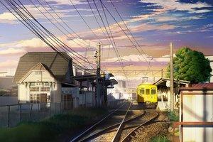 Rating: Safe Score: 64 Tags: building city clouds grass hankachi_(okayama012) nobody original scenic sky stairs train tree User: RyuZU