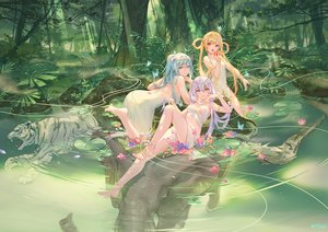 Rating: Safe Score: 135 Tags: animal apple ass atdan barefoot bird blonde_hair blue_eyes blue_hair butterfly cangqiong crossover dress elephant flowers food forest fruit long_hair owl purple_eyes purple_hair shian_(synthv) synthesizer_v tiger tree twintails vocaloid water xingchen yellow_eyes User: BattlequeenYume