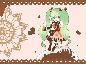 Rating: Safe Score: 22 Tags: candy chocolate hatsune_miku heart vocaloid youshiki_(mokomokohituji) User: PiroskY