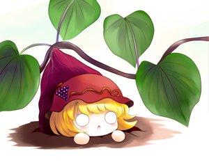 Rating: Safe Score: 33 Tags: aki_minoriko blonde_hair chibi food short_hair touhou yume_shokunin User: PAIIS