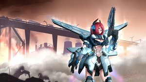 Rating: Safe Score: 59 Tags: anomonny armor glasses gun mecha phantasy_star_online signed weapon wings User: Anomonny