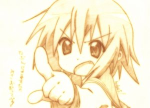 Rating: Safe Score: 31 Tags: godees kusakabe_misao lucky_star monochrome school_uniform User: talchi