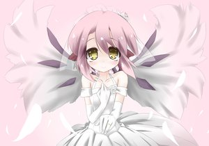 Rating: Safe Score: 29 Tags: mystia_lorelei touhou urimono wedding_attire wings yellow_eyes User: HawthorneKitty