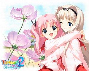 Rating: Safe Score: 3 Tags: aquaplus kawata_hisashi kusugawa_sasara leaf maaryan to_heart to_heart_2 User: Oyashiro-sama