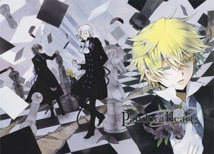 Rating: Safe Score: 16 Tags: gilbert_nightray oz_bezarius pandora_hearts scan vincent_nightray xerxes_break User: Katsumi